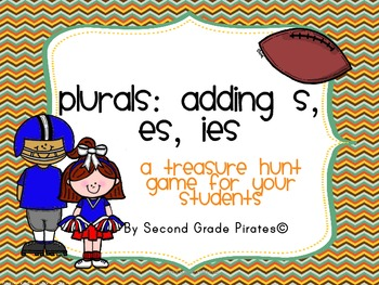 I have created a classroom scavenger hunt to help students understand the three plural endings -s, -es,-ies. I have created 12 cards that need to be cut out and placed around the classroom or hallway and two different recording sheets. This is a great game to play with your students to get them out of their seats and teach them!*This is also offered as a bundled set with my other scavenger hunt…