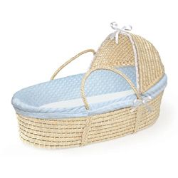 moses basket with stand for a newborn. I really love this!