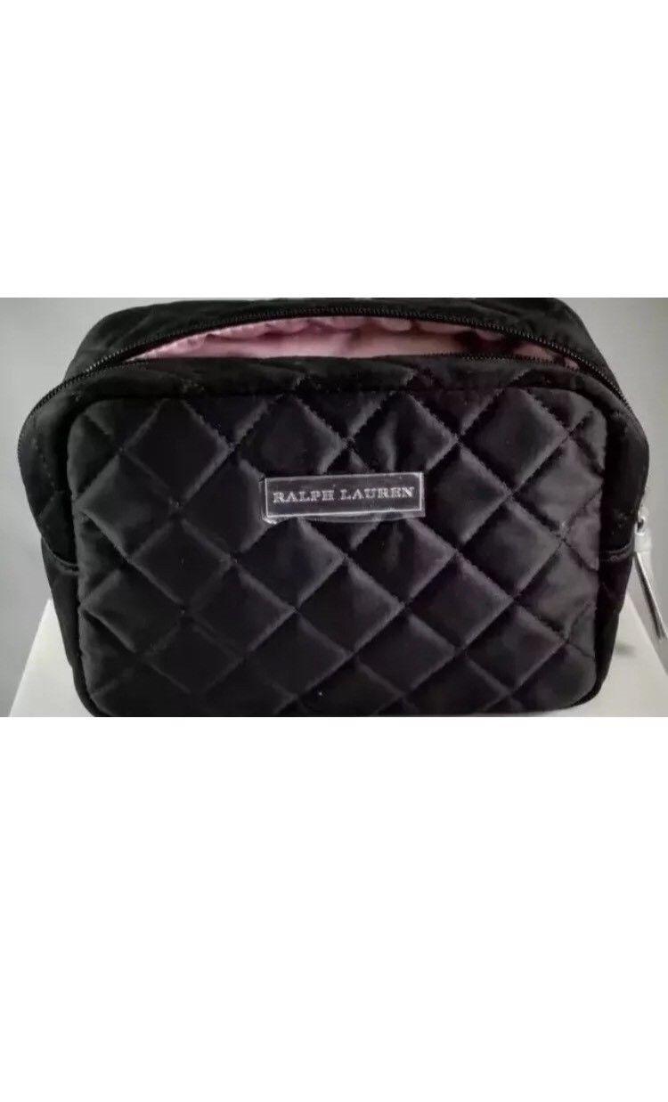 5a9eac8ca5bd  13.75 - Ralph Lauren Women Cosmetic Makeup Case Bag Purse Handbag Clutch   ebay  Fashion