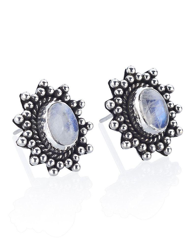 Majestic Moonstone Earrings | Moonstone | earrings | magical | iridescent | gypsy | bohemian