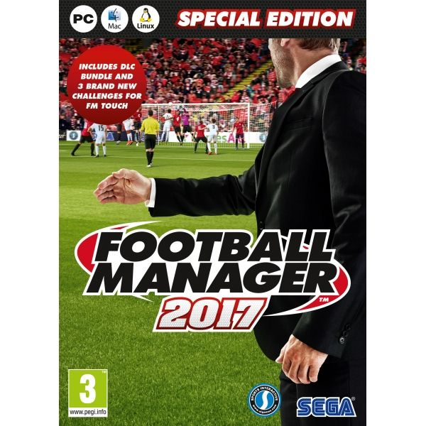 Recently released Football Manager 2017. Special Offer of FREE games and Player Points turned into money off vouchers on all purchases.
