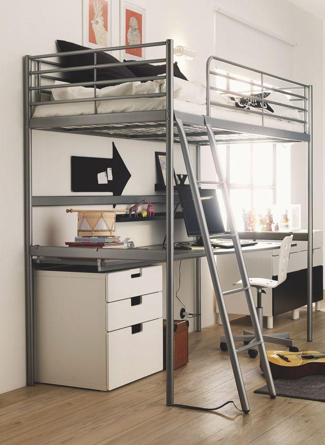 Décorer une chambre d\'ado : astuces et conseils | Bunk bed, Room and ...