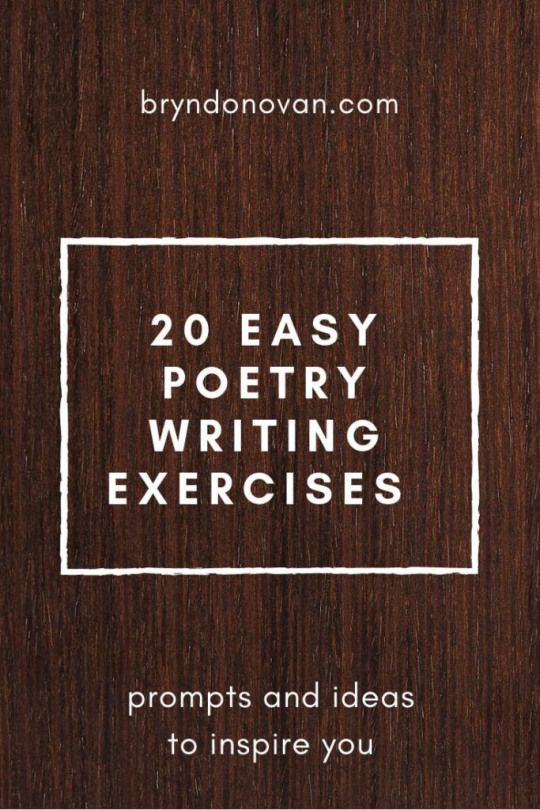 20 Easy Poetry Writing Prompts and Exercises for poems to write a poem writing starters