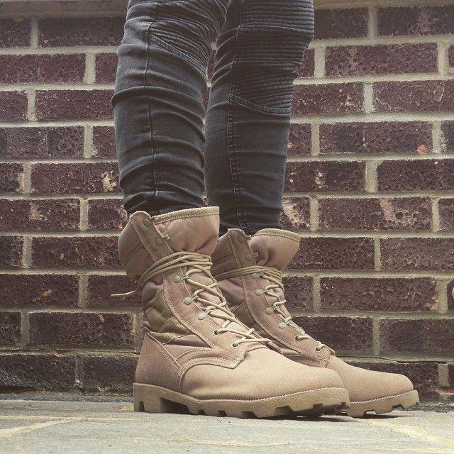 Iconosquare Benstart Us Military Desert Boot Rothco