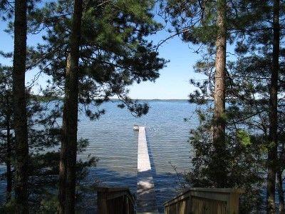 Vrbo Com 418476 Sunset Shores On 3 000 Acre Grindstone Lake Near Hayward Acre House Rental Vacation Rental