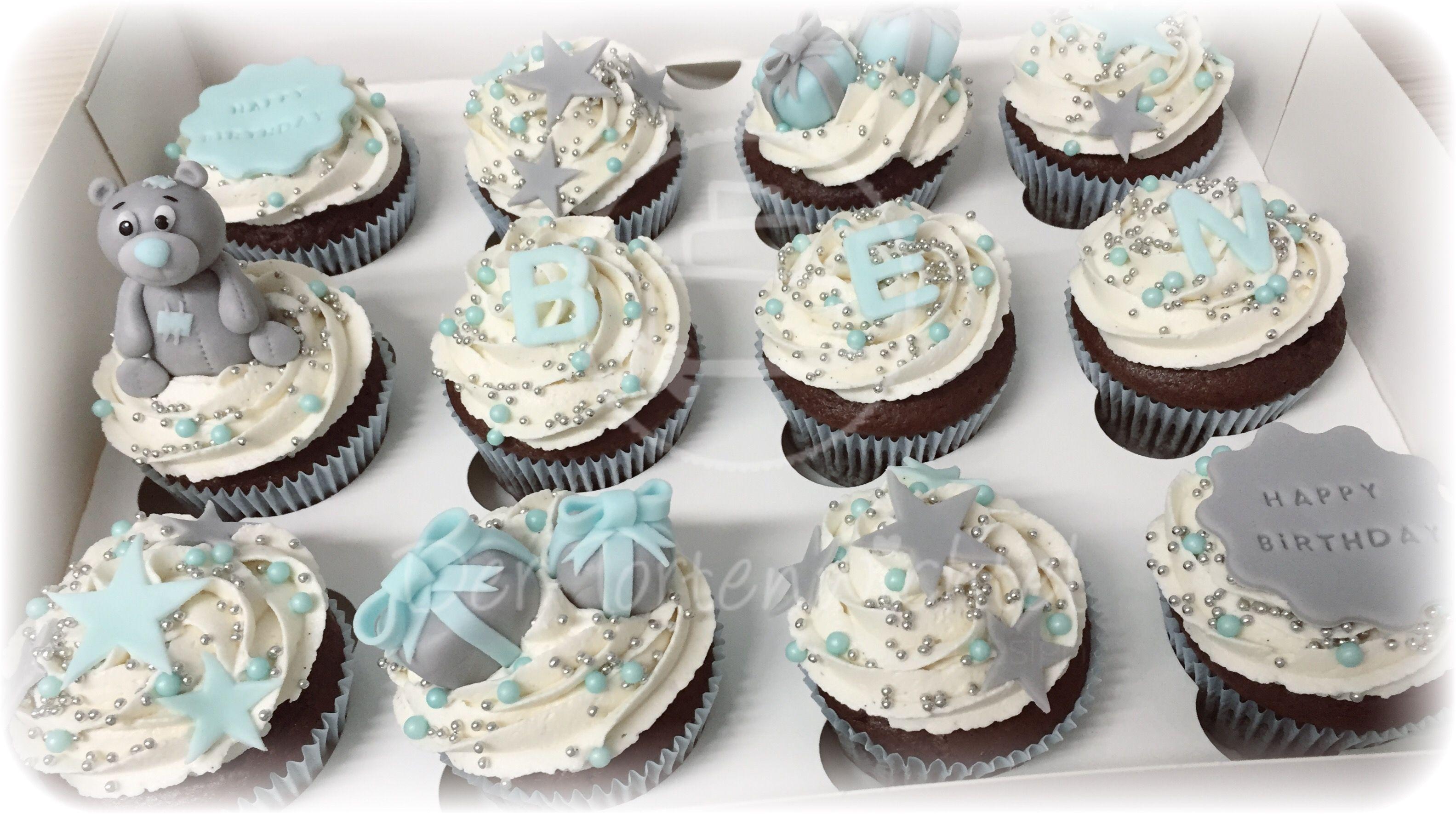 Tauf-Cupcakes | Cupcakes | Pinterest | Taufen und Cupcakes