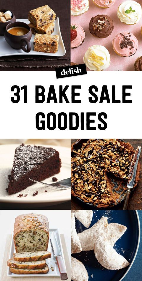 40+ Easy Recipes For A+ Bake Sales