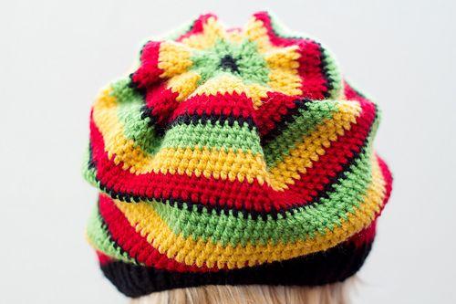Ravelry: Rasta Hat pattern by Iris F.   Crochet Hat Beanie ...
