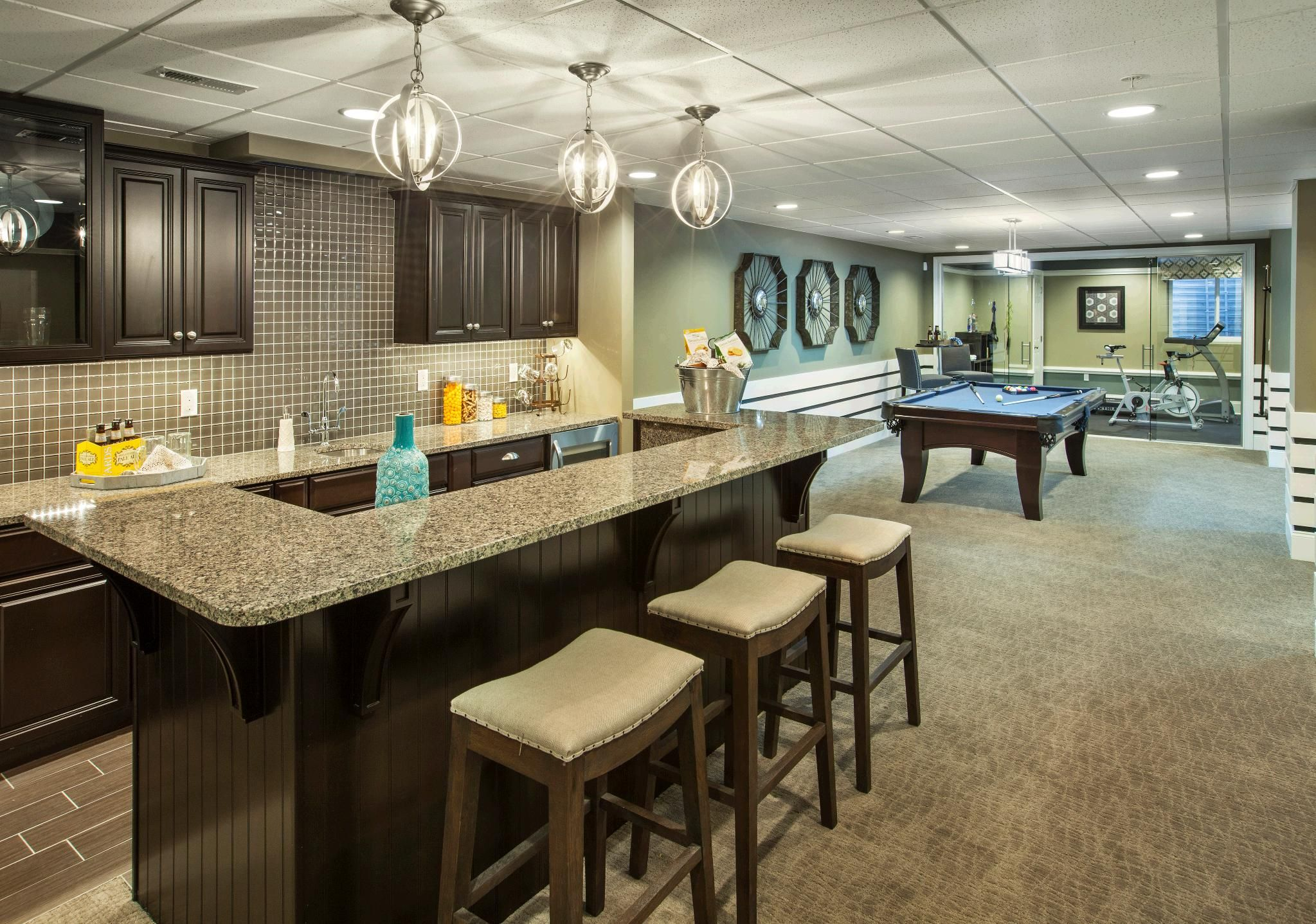 Enclave At Upper Makefield Home Bar Areas Home Luxury Homes