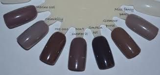 My Beauty Galleria Essie Color Comparison Taupe Mauve Gray Beige Essie Colors Essie Nail Polish Essie Nail