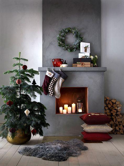 Diy Christmas Fireplace Seasons 40+ Ideas For 2019 #weihnachtsdeko2019trend Diy Christmas Fireplace Seasons 40+ Ideas For 2019 #weihnachtsdeko2019trend