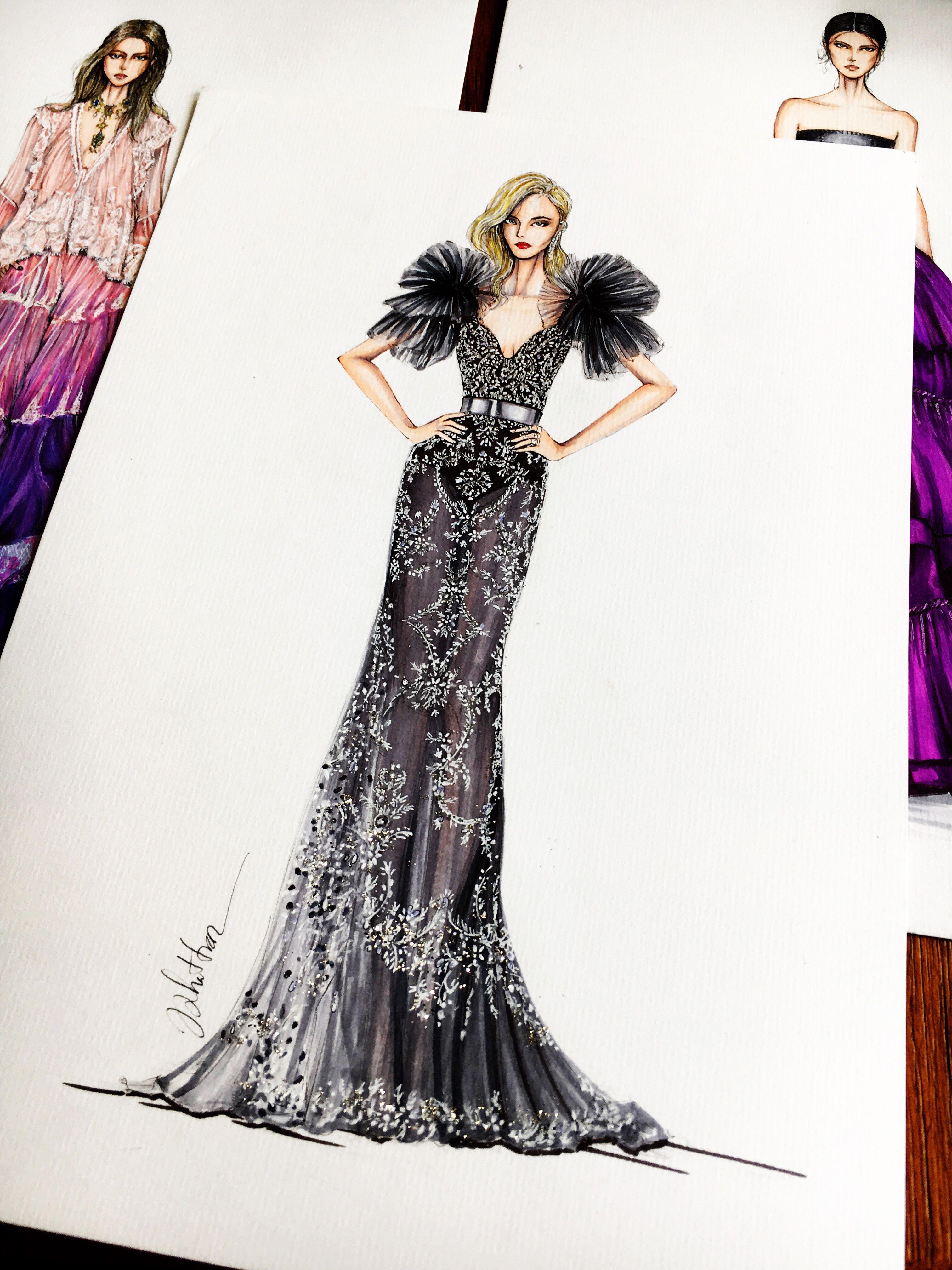Eris Tran On Behance Jadealyciainc Www Jadealycia Com Fashion Illustration Sketches Dresses Fashion Illustration Dresses Fashion Design Sketches