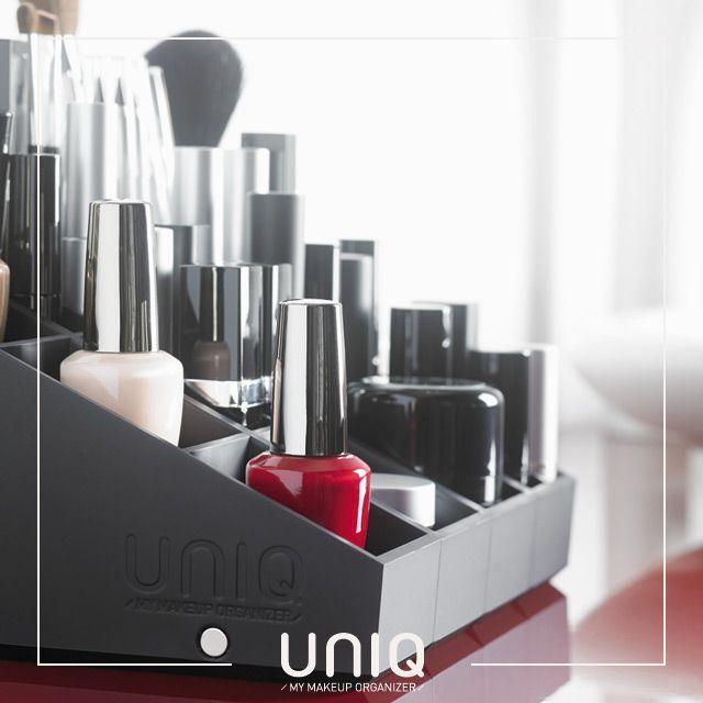 Makeup storage - Organize all your cosmetics products with Uniq organizer ! www.uniqorganizer.com