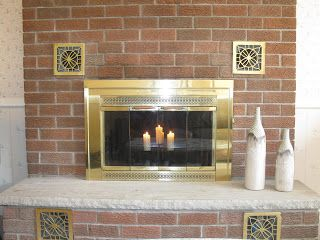 How To Clean Soot From Fireplace Brick With Images Brick