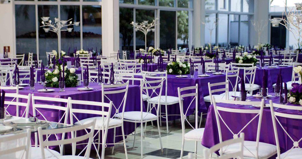 Decoraç u00e3o casamento roxo e branco ROSA, ROXO e AZUL Roxo e azul, Casamento roxo e Decoraç u00e3o -> Enfeites De Mesa Para Casamento Azul E Branco