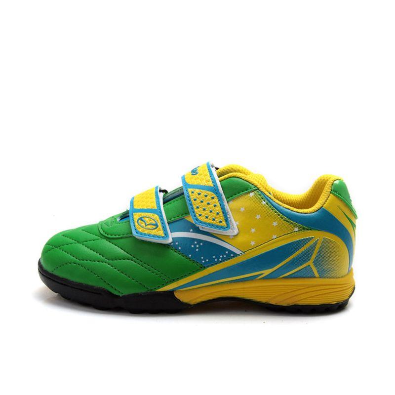 444040d72 Tiebao K13135 Professional Kids' Indoor Football Boots, Turf Racing Soccer  Boots, Training Football Shoes.