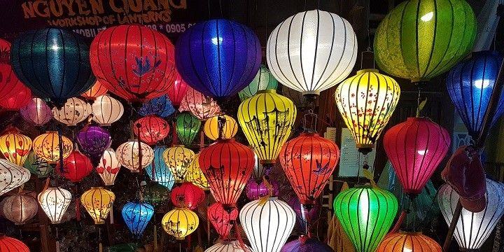 Night Market, Hoi An, Northern Vietnam, Asia