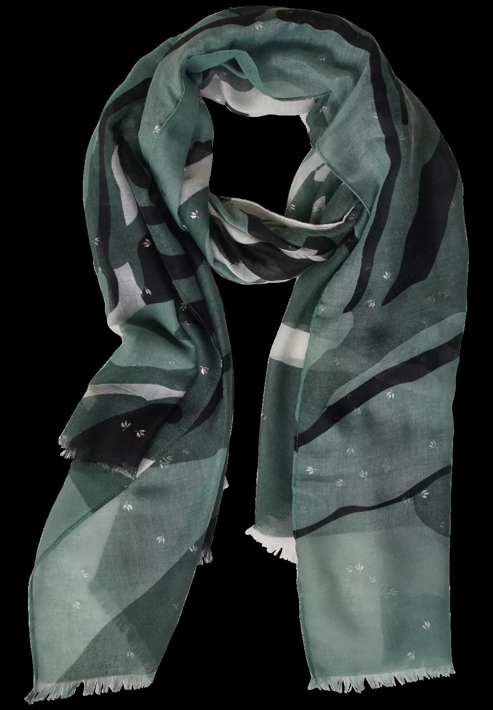 Street One Damen Schal im Colourblock-Look