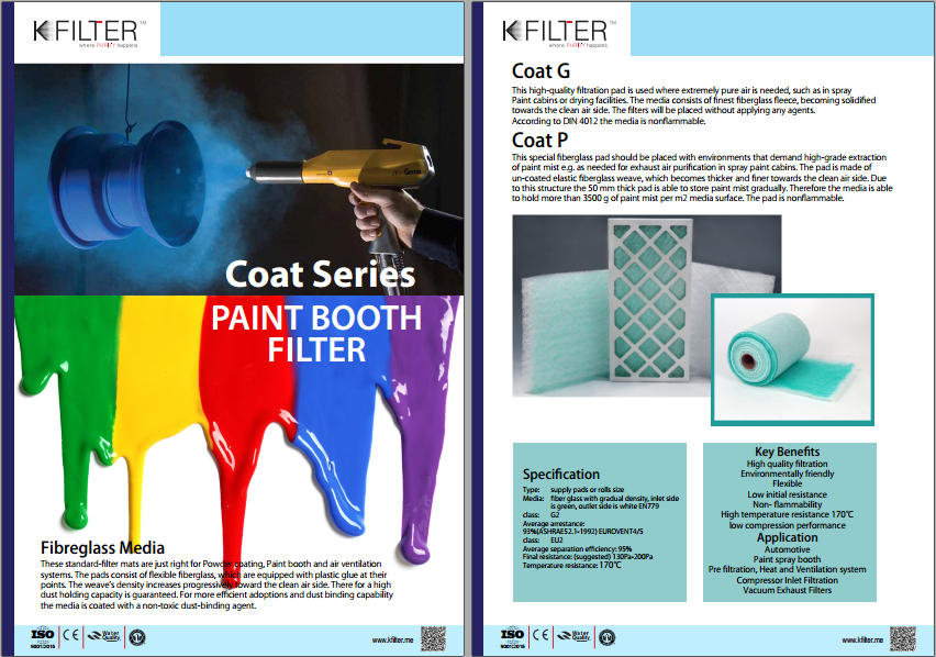 Paint Booth Filters We Are Leading Paint Booth Filter