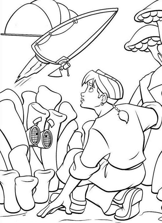 Tegninger til Farvelægning Skatteplaneten 31