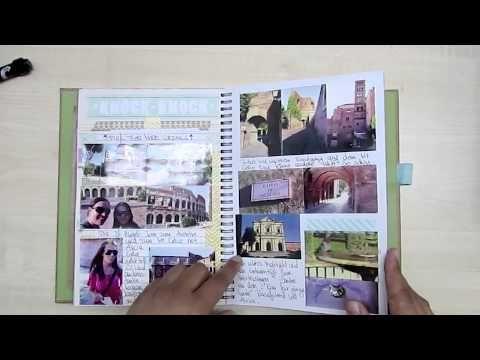 Smash Book als Reisetagebuch / Travel Journal ROM