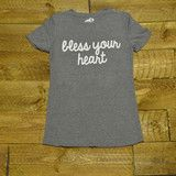 The most condescending shirt in the south y'all. This is a ladies fit, so it is a bit snugger than our unisex tees.