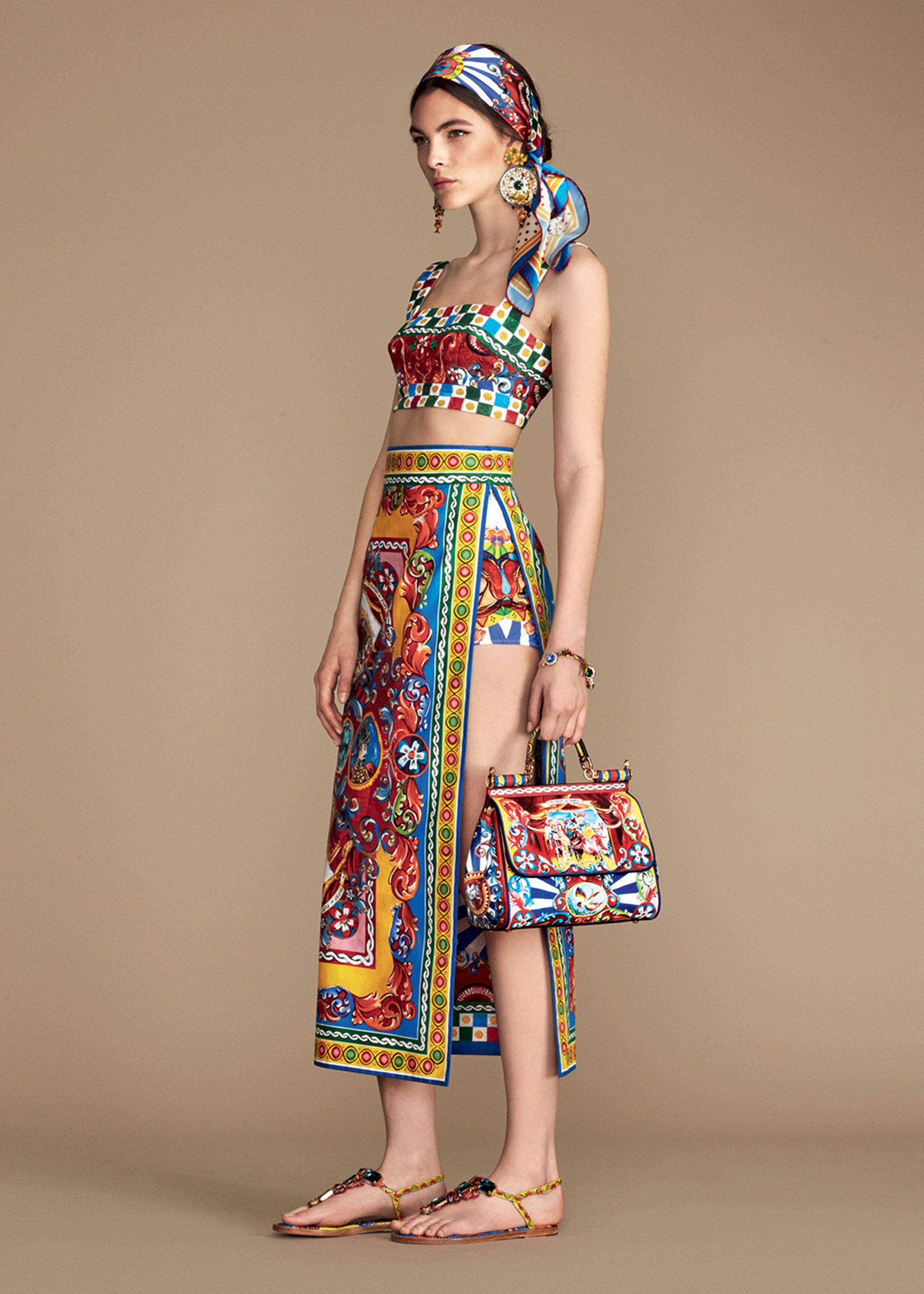Dolce & Gabbana's Summer 2016 Women collection - malisorientalbazzar