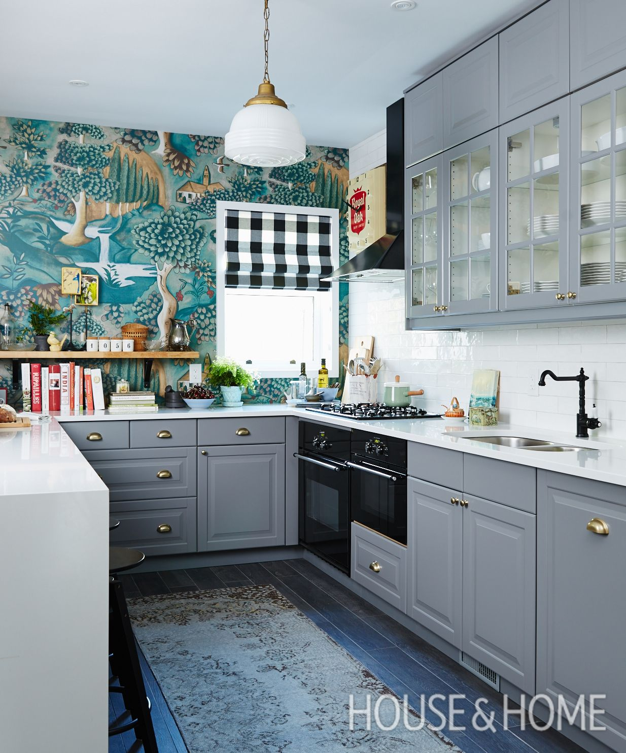 25+ Ways To Wow With Pattern | Dream Kitchens | Pinterest ...