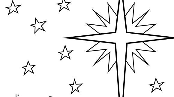 Christmas Series Star Of Bethlehem Grandparents Com Star Coloring Pages Printable Christmas Coloring Pages Star Of Bethlehem