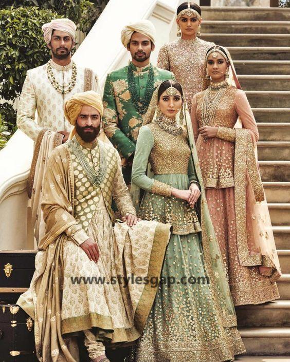 bda16b0584 Sabyasachi Mukherjee Latest Wedding Dresses 2018-2019 Collection ...