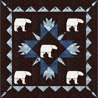 Polar Bear Quilt Pattern Have Some Ideas About This One Using