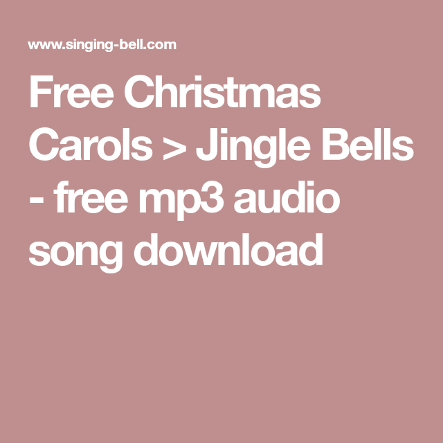 Jingle Bells Mp3 Song Free Download