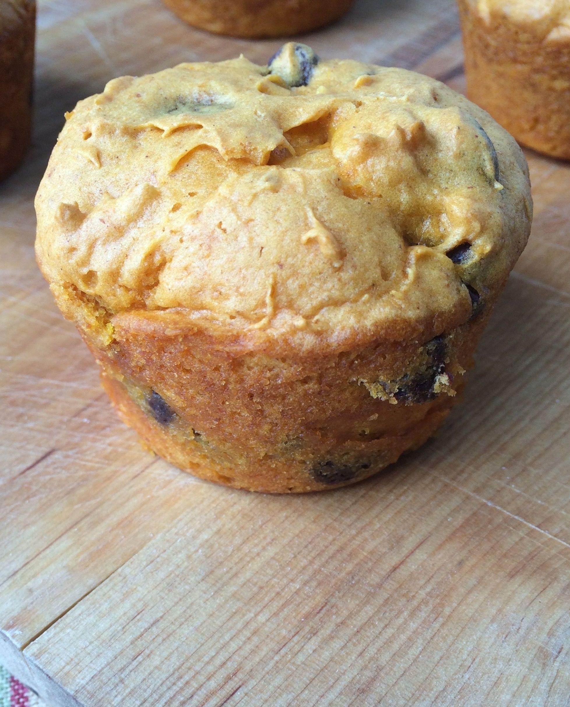 2 Ingredient Pumpkin Muffins Recipe