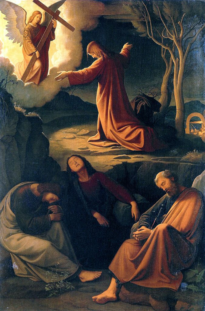 Jesus Prays in Gethsemane | Sets appears in: • Gethsemane ... Jesus Praying In The Garden Of Gethsemane Painting