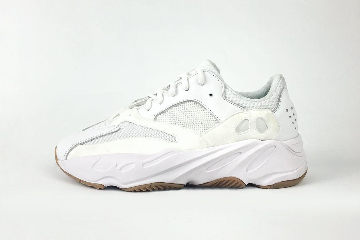 buy popular 92f8a cf224 YEEZY BOOST 700 Wave Runner Sneaker Release, White Sneakers, Shoes  Sneakers, Yeezy Boost