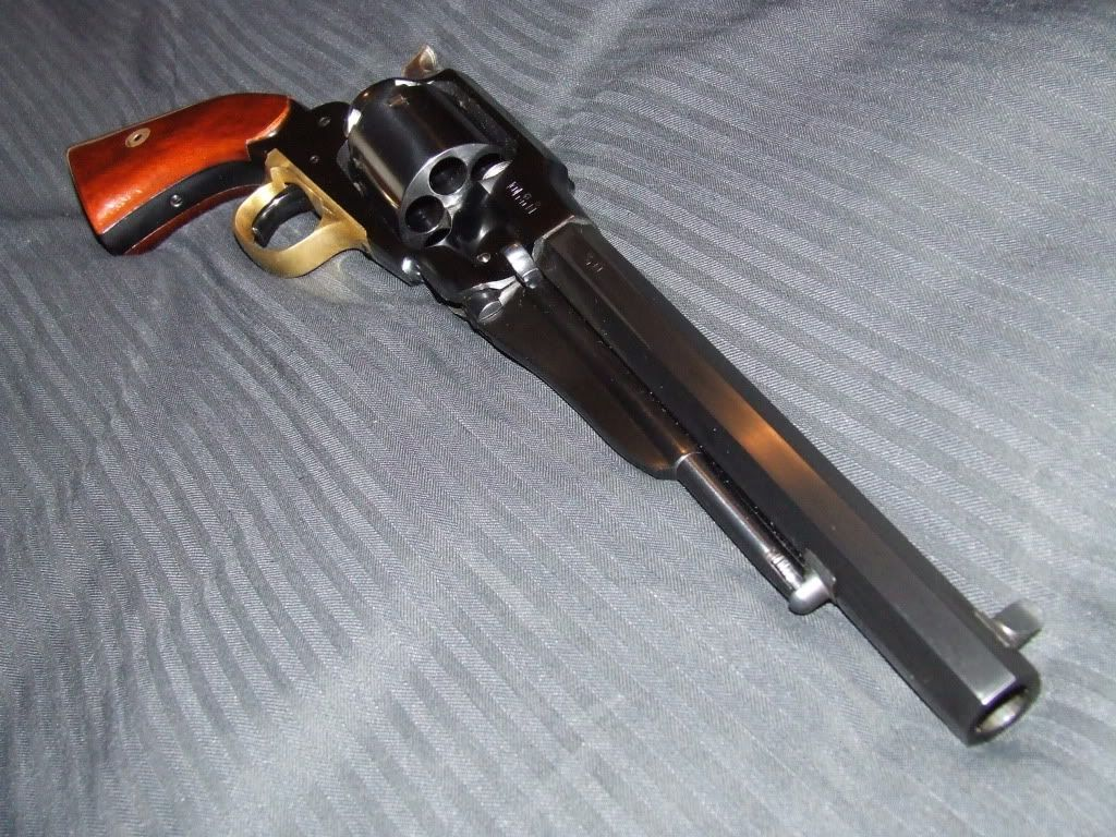 uberti s p a model 1858 remington new army 44 cal revolver