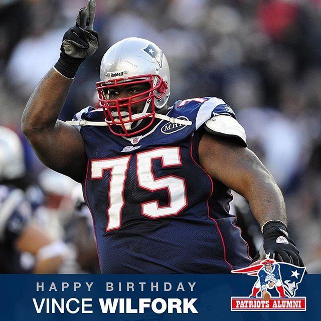 Happy Birthday, Vince Wilfork!