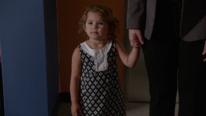Tali, Ziva and Tony's little girl. NCIS. Ahh! My heart cannot take her cuteness!!!