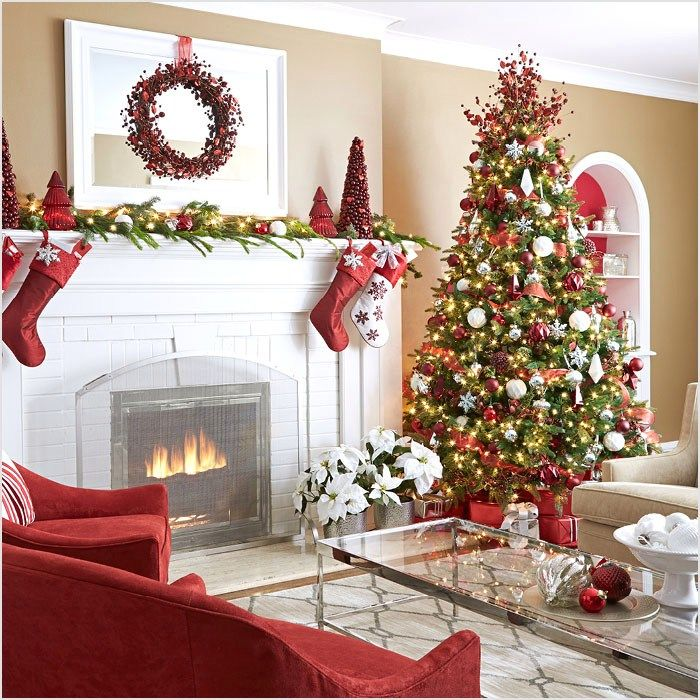 44 simple christmas decorations living room ideas 62 inspiring christmas decor ideas 8 - Simple Christmas Decorations Ideas For Living Room