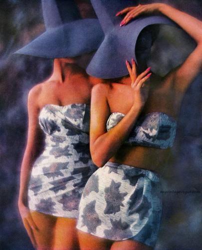 fb7583a727020 Roxanne Swimwear 1960 | 主题-英伦复古腔调 | Fashion, Swimwear ...