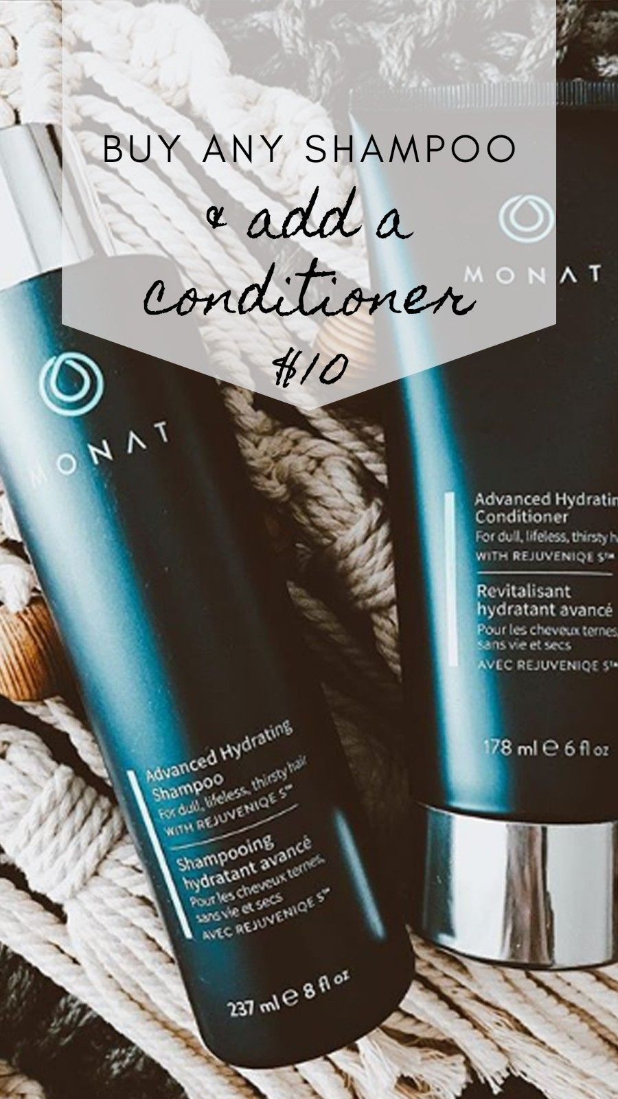 Let's create your customized hair care system Monat