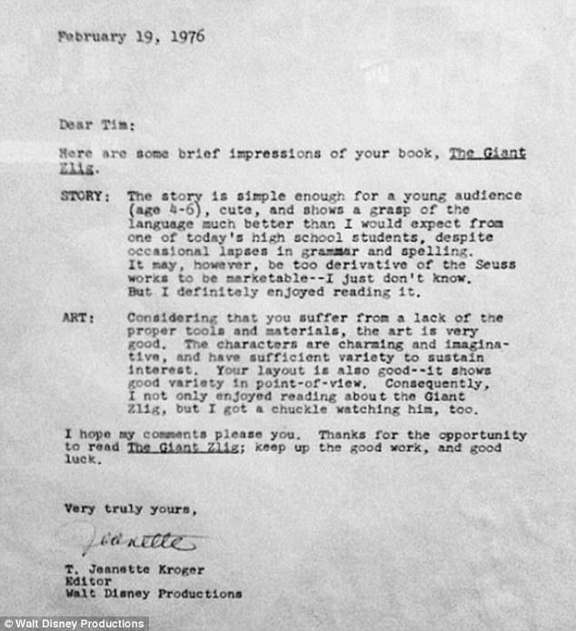 Rejection Letters Famous People Received