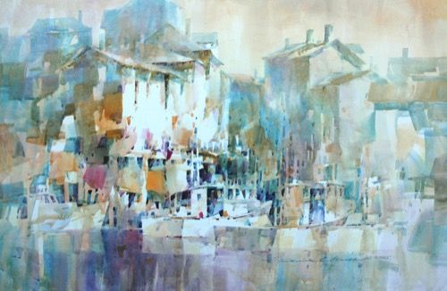 Larochelle Frederic Graff Medina Oh Painting Watercolor Art