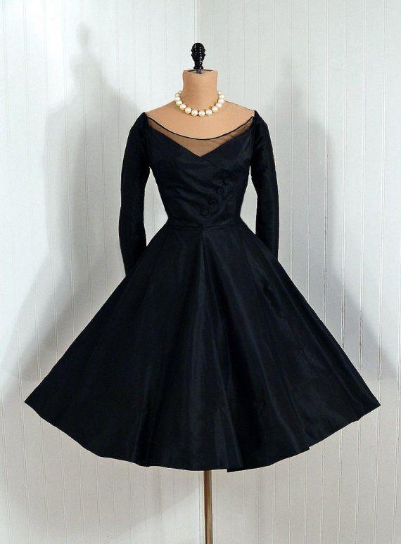 vintage cocktail jurk