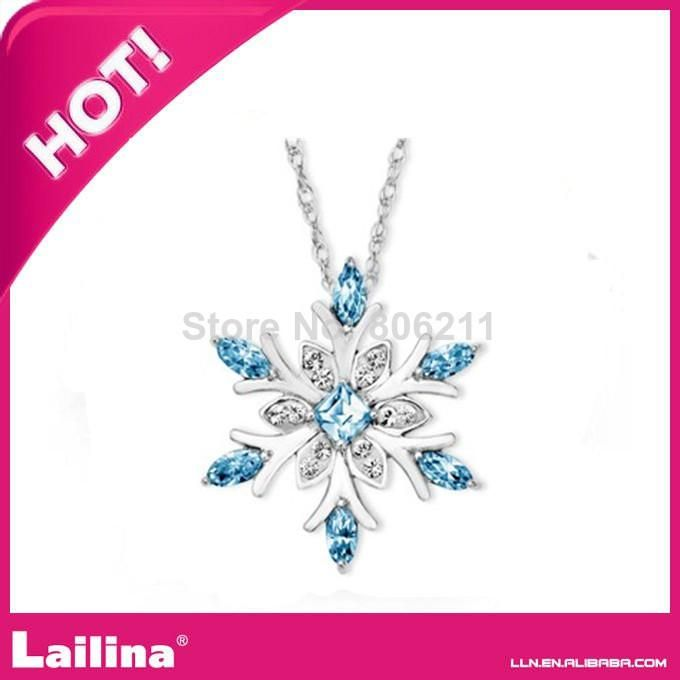 Fashion Jewelry Necklace Snowflake Pendant /Charming Snowflake Pendant Chains | Buy Wholesale On Line Direct from China