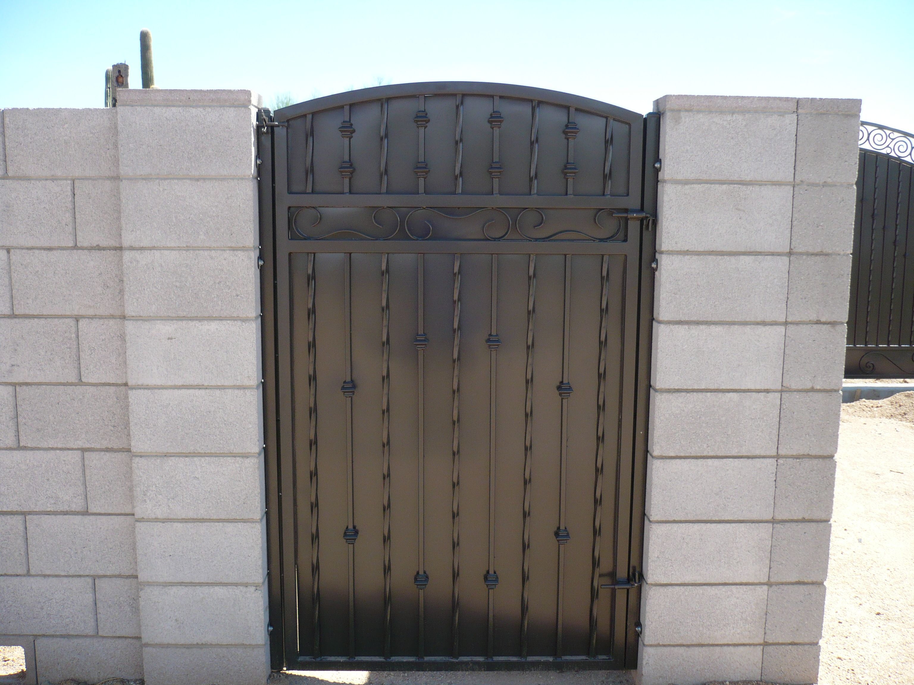 1000 Images About Privacy Gates On Pinterest Wrought Iron
