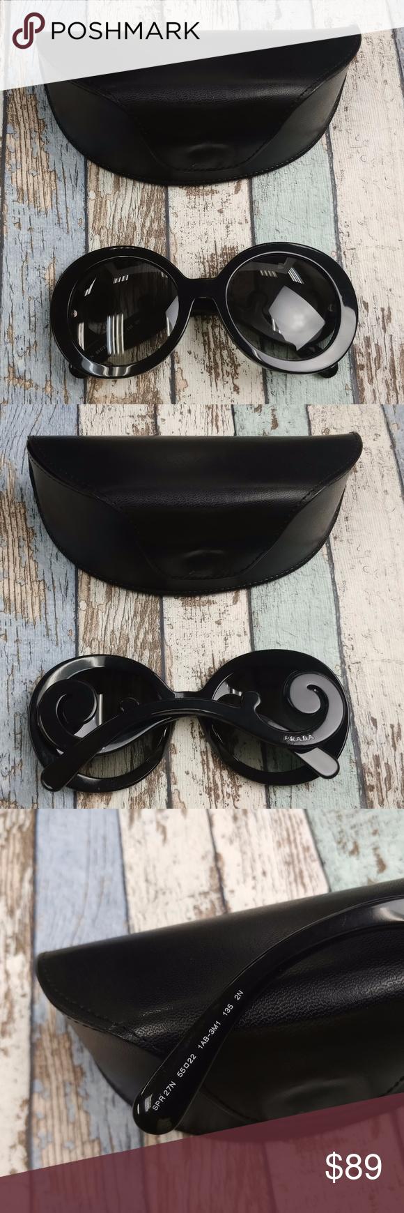 b017dadb83367 Prada SPR27N Women s Sunglasses  EUG539 Made in Italy! Lens Condition   Almost