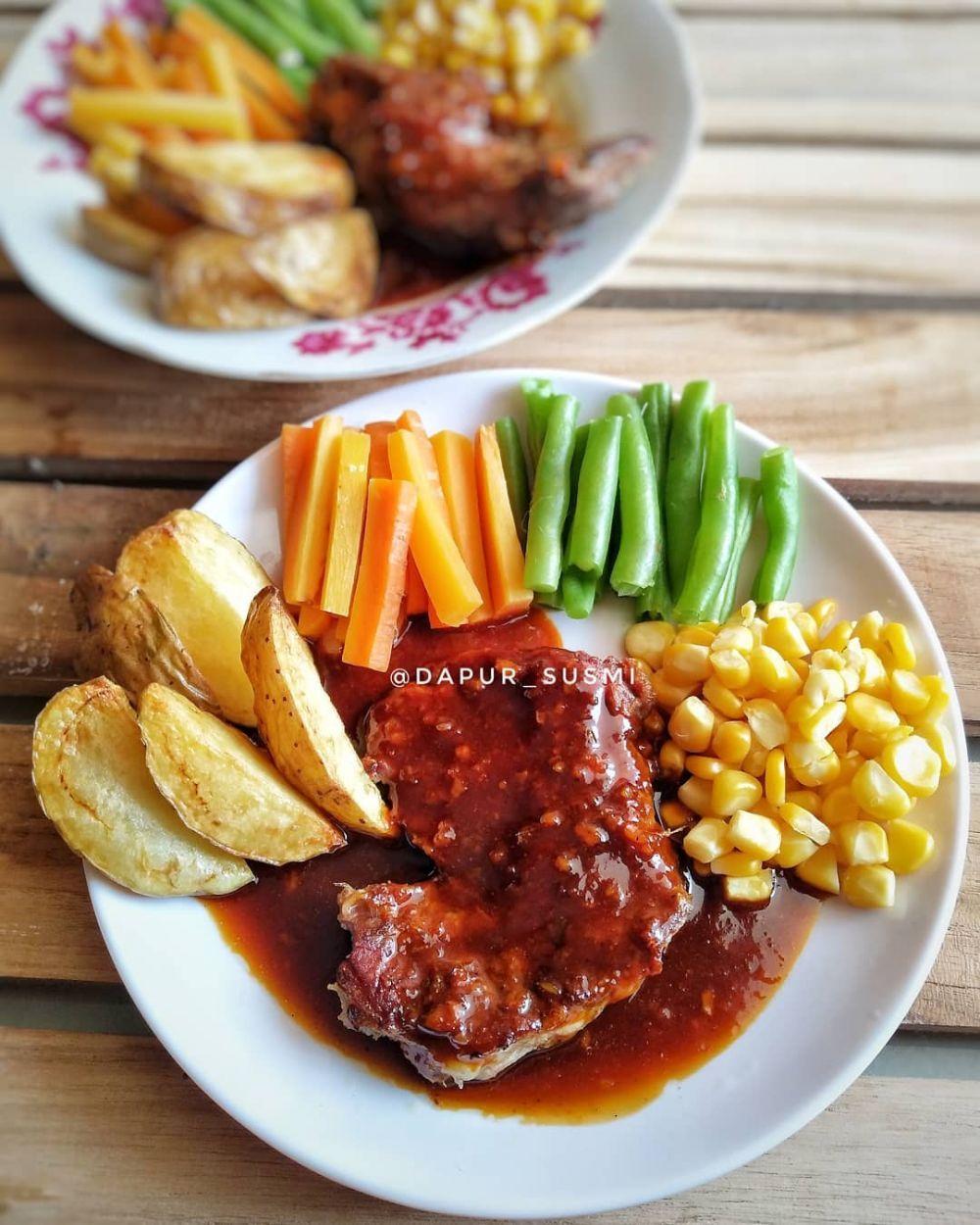 Resep Masakan Saus Barbeque Instagram Resep Masakan Makan Malam Masakan