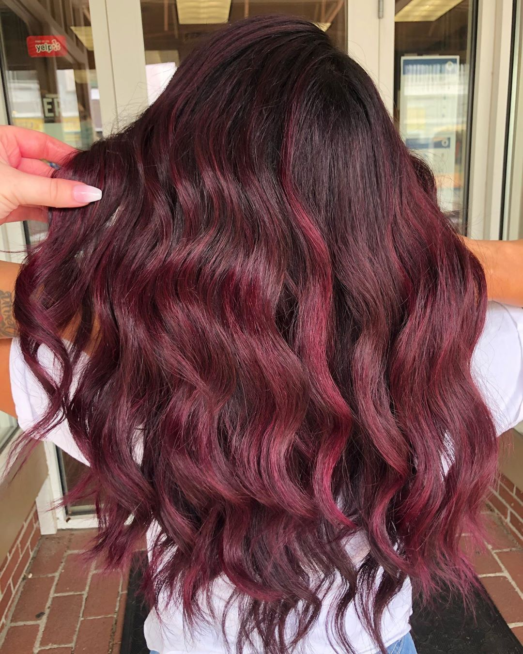 Pin On Burgundy Hair Colors