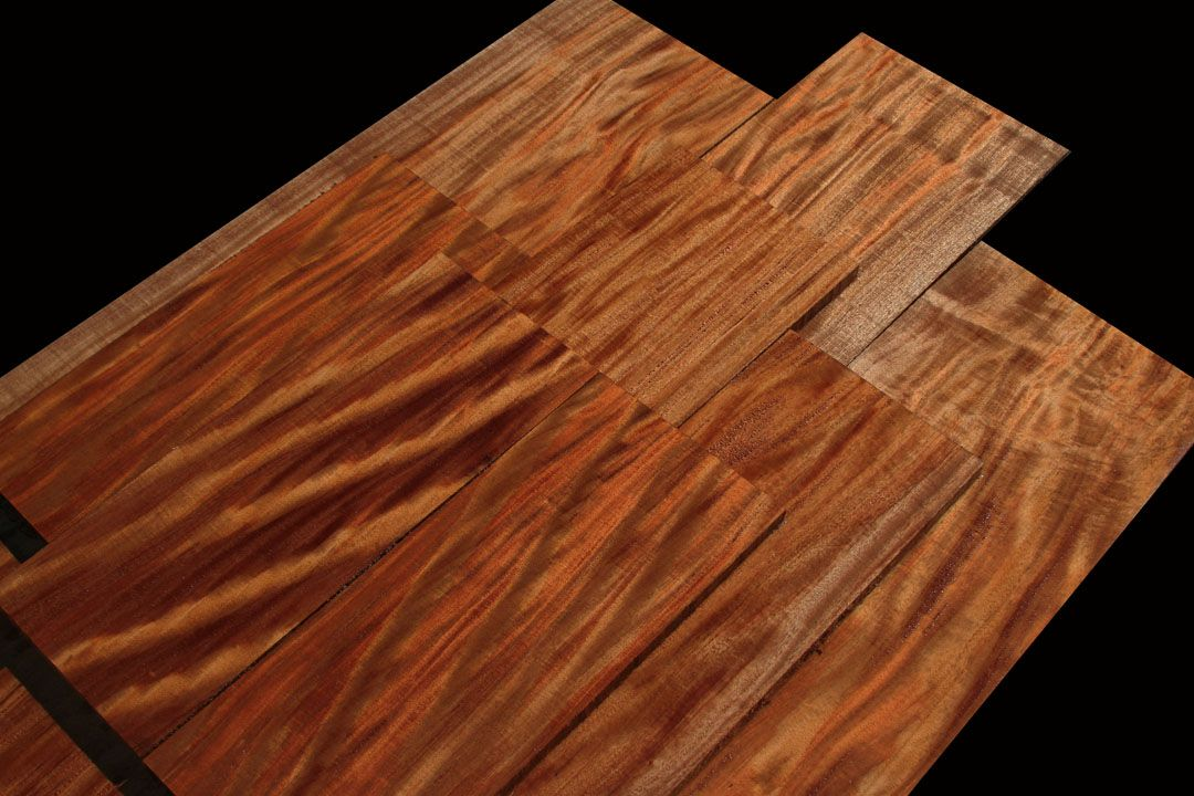 Exotic Wood African Mahogany Beautiful Hardwood Species